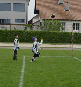 Faustball Nachwuchs - Training